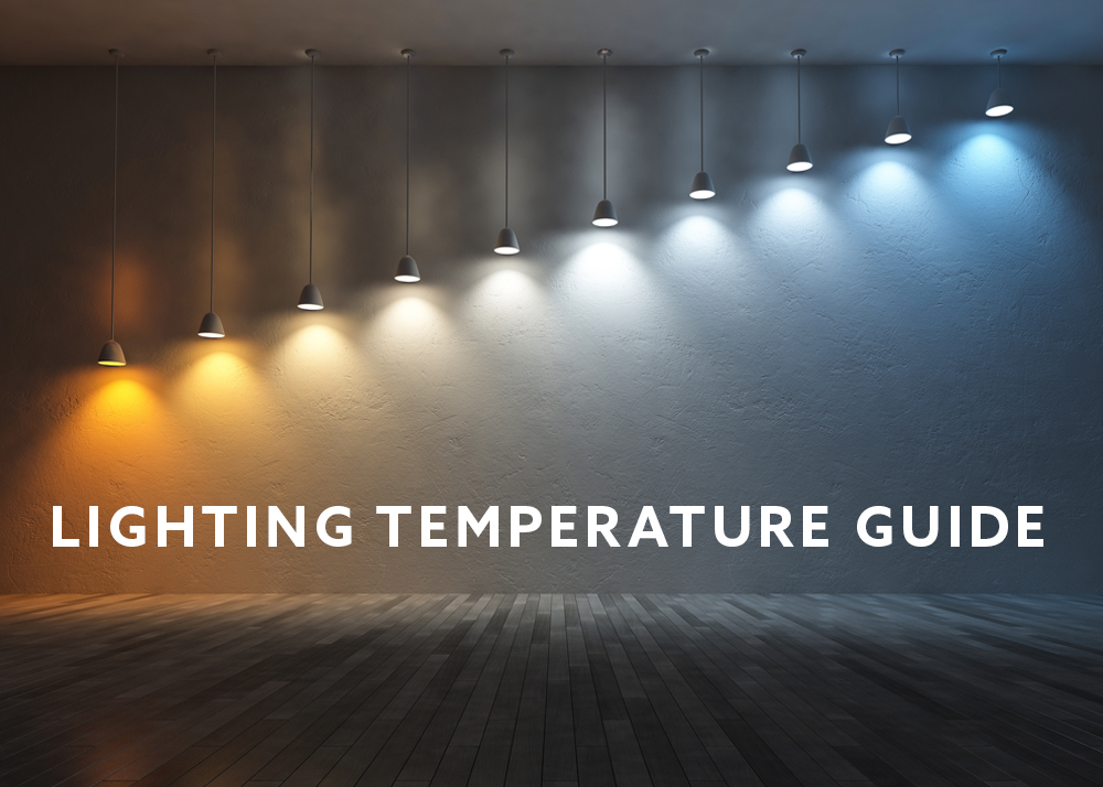 importance of lighting color temperature for your home or office pauls electric service. Black Bedroom Furniture Sets. Home Design Ideas