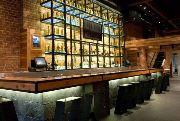 Commercial Lighting Ideas Built In Lights Bar